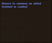Info Sentinel Amulet