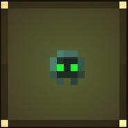 Icon Green Berserk Skull