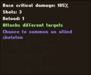 Info Necro Energy Bow 'Blink'