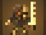 Рабочий киборг-скелет Т-1
