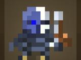 Часовой киборг-скелет