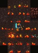 Омега жезл огня в действии