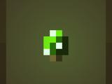 Зелёный гриб