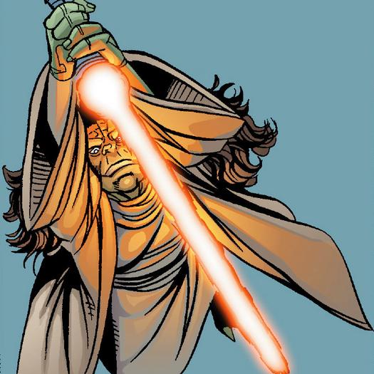 Yaddle's lightsaber