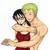 Zoro et Tashigi