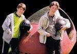 Tom Baxter and Geoff Reynolds