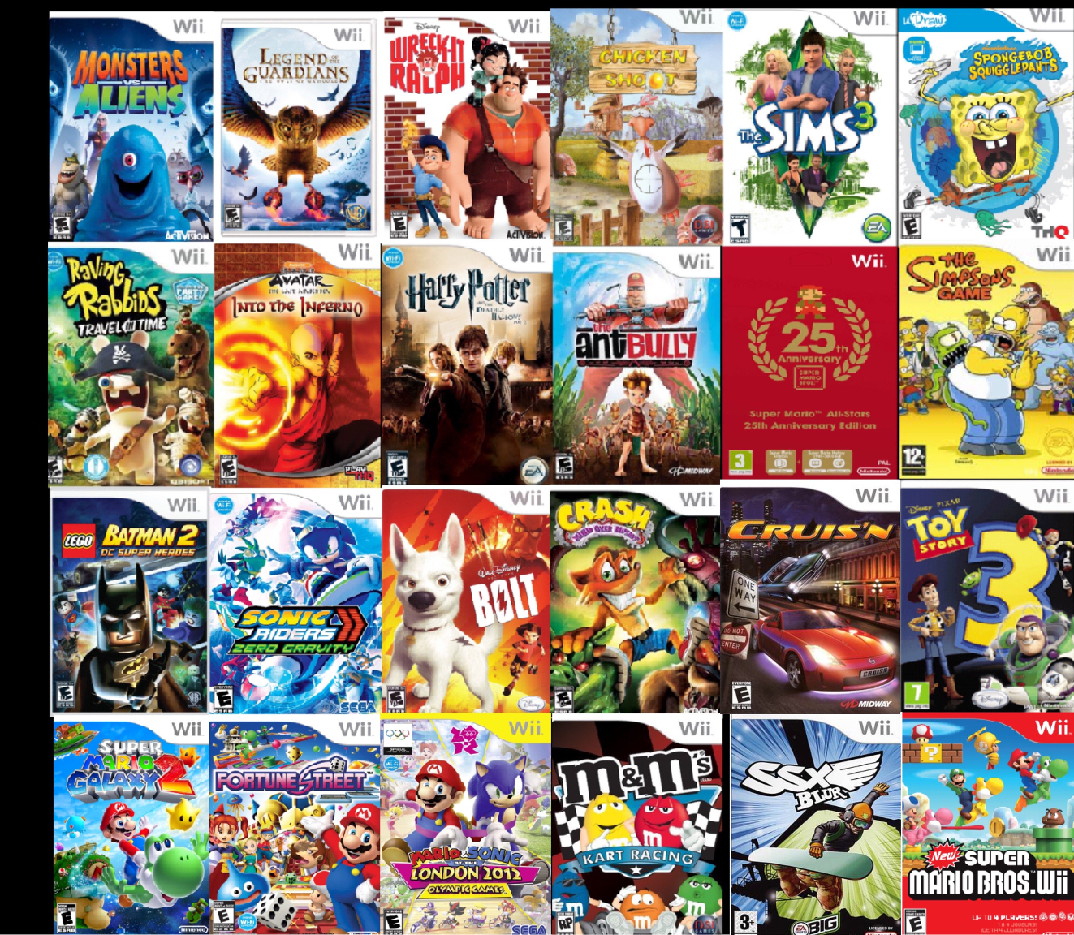 Why Wii Games