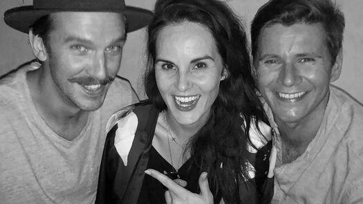 """Dan Stevens on Instagram: """"Should Matthew have a mustache for the #DowntonAbbeyMovie...? Vote below... ☑️ ❎"""""""