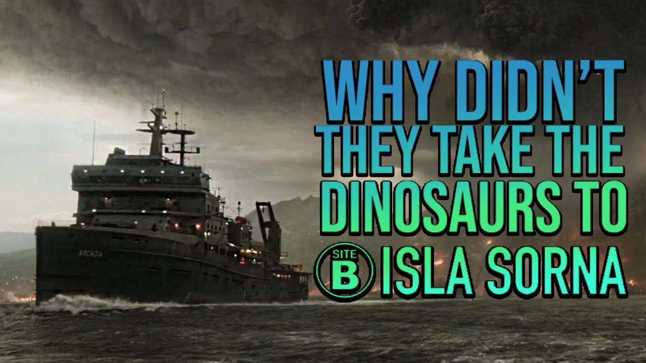 Why Didn't they take the dinosaurs to ISLA SORNA? | Jurassic Misconceptions #10