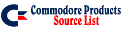 Commodore Products Source List Wiki