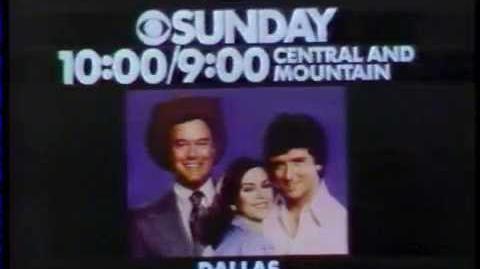 Dallas 1978 Series Premiere Promo