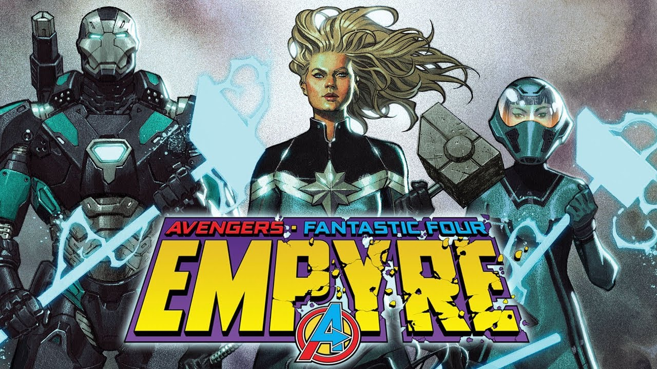 TO BUILD AN EMPYRE | Marvel Comics Trailer