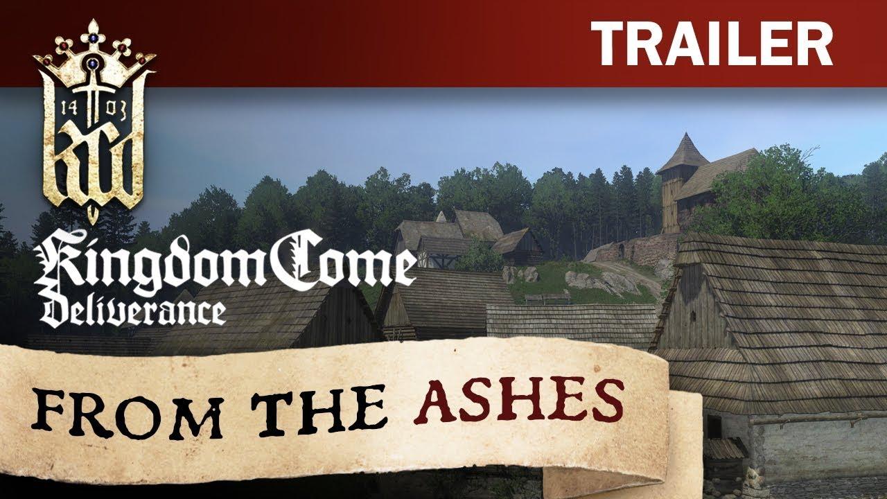 Kingdom Come: Deliverance - From The Ashes Trailer [DE]