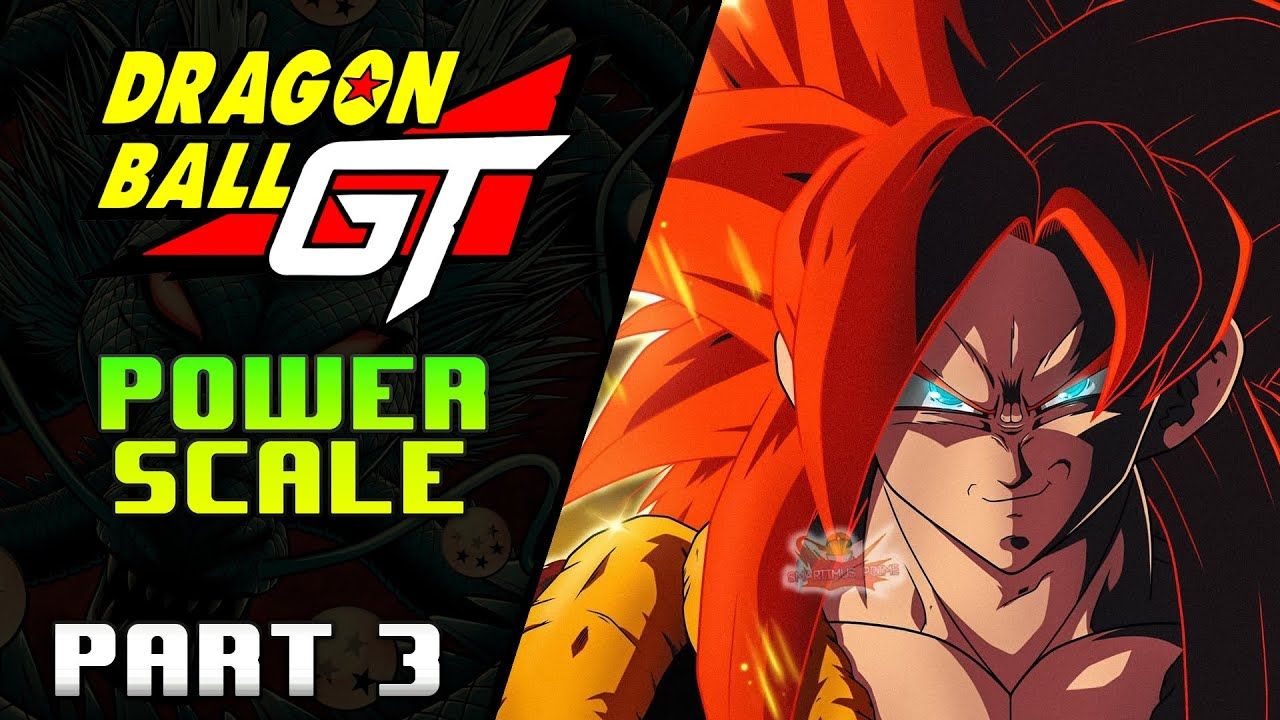Why Dragon Ball GT Characters are STRONGER Power Scale: Part 3