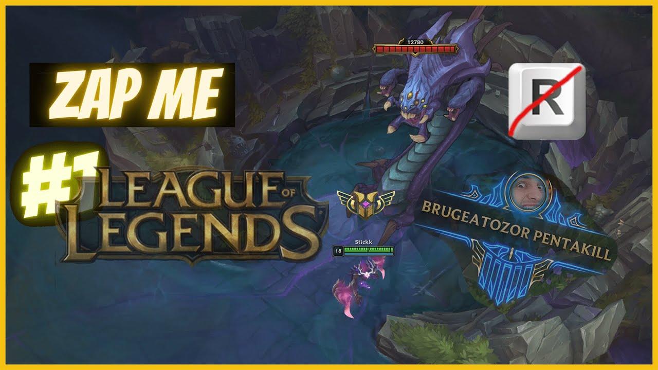 (FR) 🔥 L'ULTI EST INUTILE ! 🔥 - Zap Me League of Legends #1