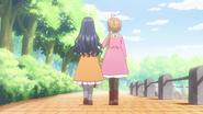 CCSCC EP05 - Tomoyo and Sakura walking together