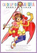 Cardcaptor Sakura 2000 Calendar