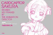 Cardcaptor Sakura Revised Key Frames by the Animation Director