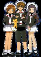 Tomoeda Elementary School Uniforms