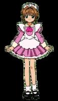 Pink Waitress Costume