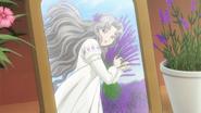 CCSCC EP10 - Nadeshiko holding purple flowers