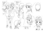 Sakura and Tomoyo PE Uniform Settei