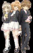 Tomoeda Middle School Uniforms