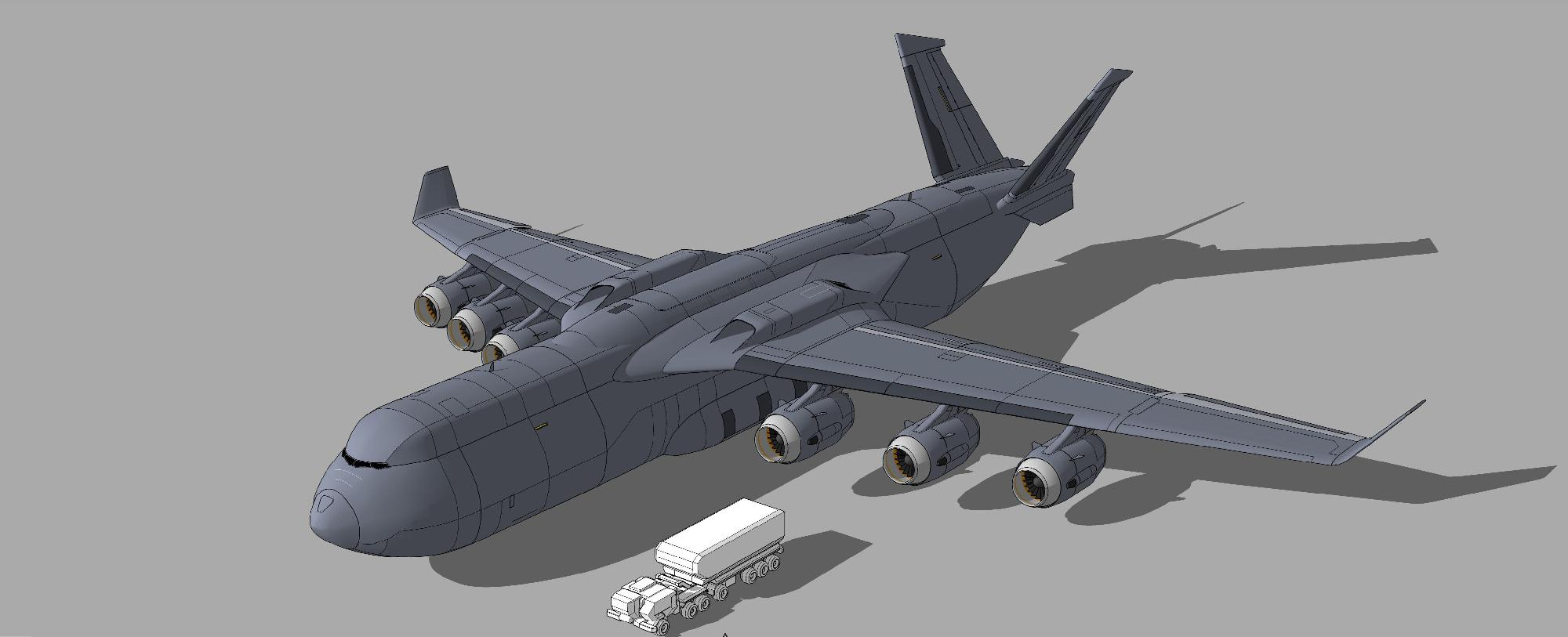 Cargo plane resembles C-17A Globemaster III