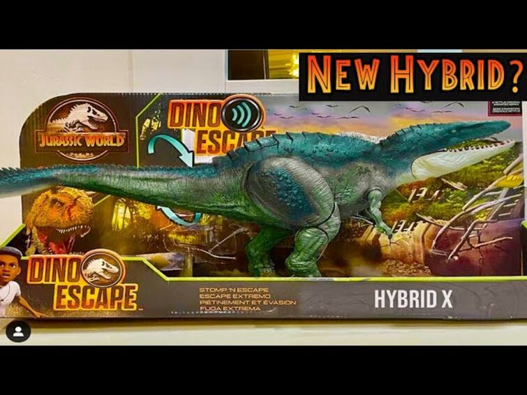 NEW HYBRID X For Jurassic World Camp Cretaceous? Real or Fake?!