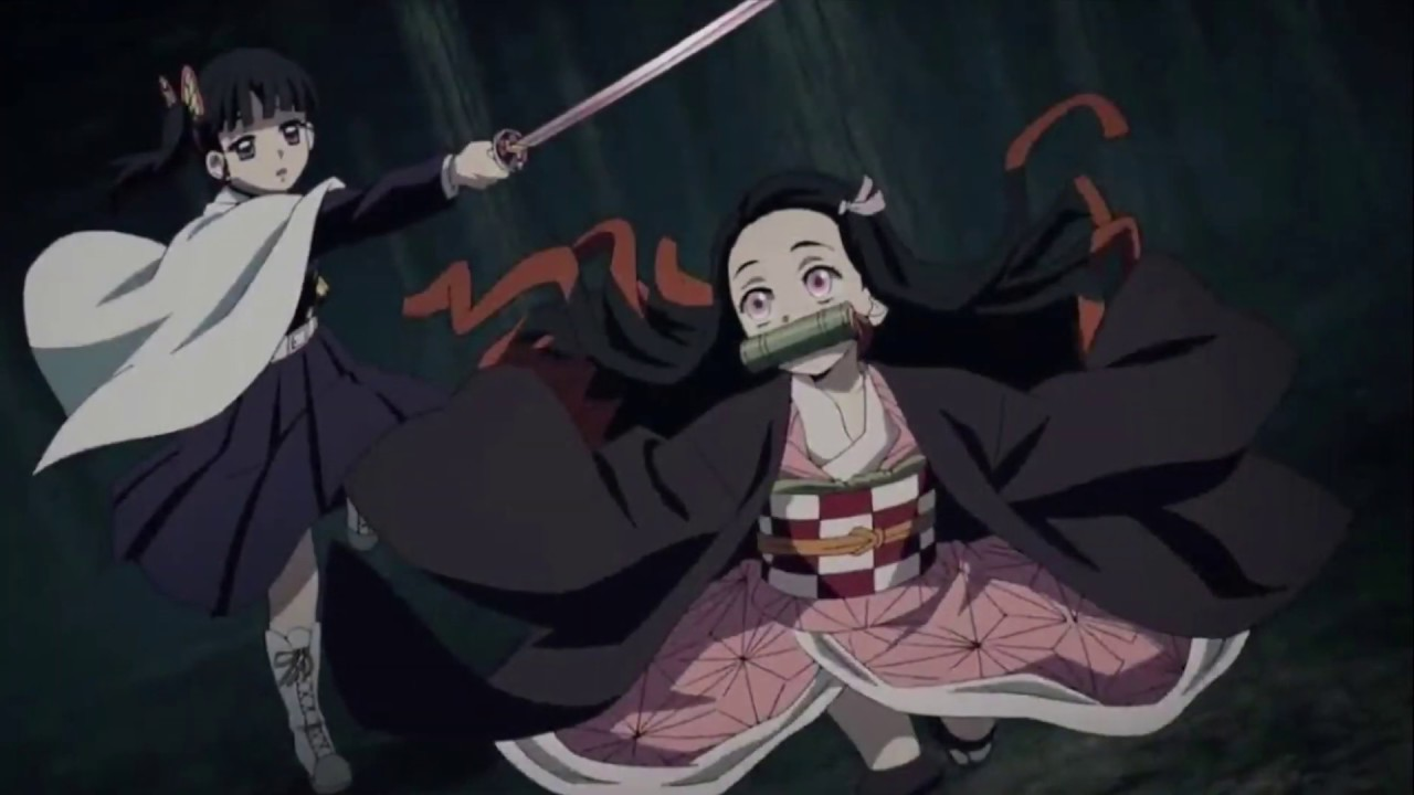What if Nezuko joind the Demon Slayer Corps (some spoils)