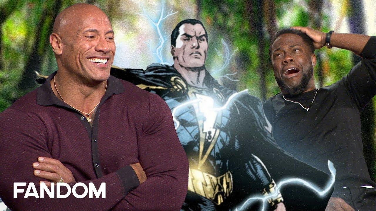The Rock Pitches New Superhero for Black Adam - Jumanji The Next Level