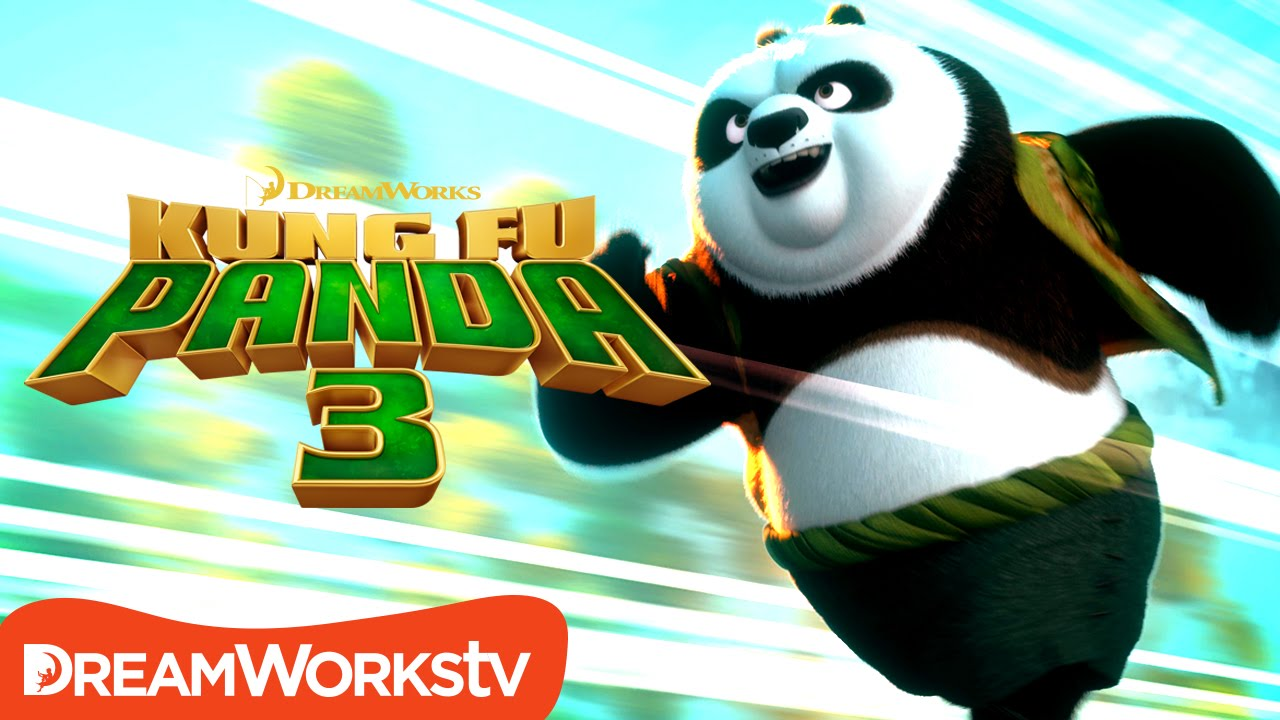 Po Teaches Kung Fu - Dim and Sum | KUNG FU PANDA 3