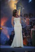 Lisa Kelly on the stage