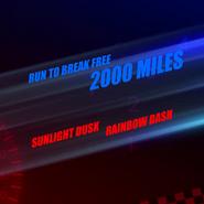 Run To Break Free 2,000 Miles