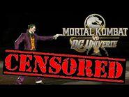 Mortal Kombat Vs DC Universe CENSORED - Gun Shot Fatalities (Documentary Purposes)
