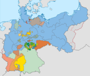 German Empire 1925 territory changes
