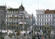 Berlin Unter den Linden Cafe Bauer um 1900