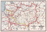 BNR (Ruthienie Blanche) Map 1918