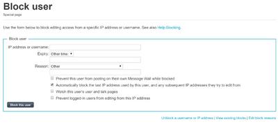 特別:Block のページ