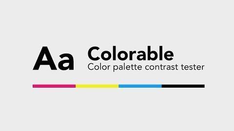 Colorable - The Color Palette Contrast Tester Dansky