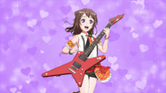 Toyama Kasumi Purple Heart Background