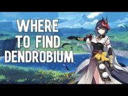 Genshin Impact - Where to find-farm Dendrobium (55x)