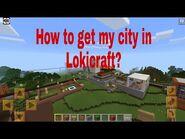 Get CR city in Lokicraft V1--