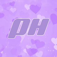 Purple hearts server logo