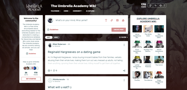 A preview of the new combined Community Feed