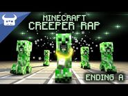 MINECRAFT CREEPER RAP - Dan Bull - ENDING A