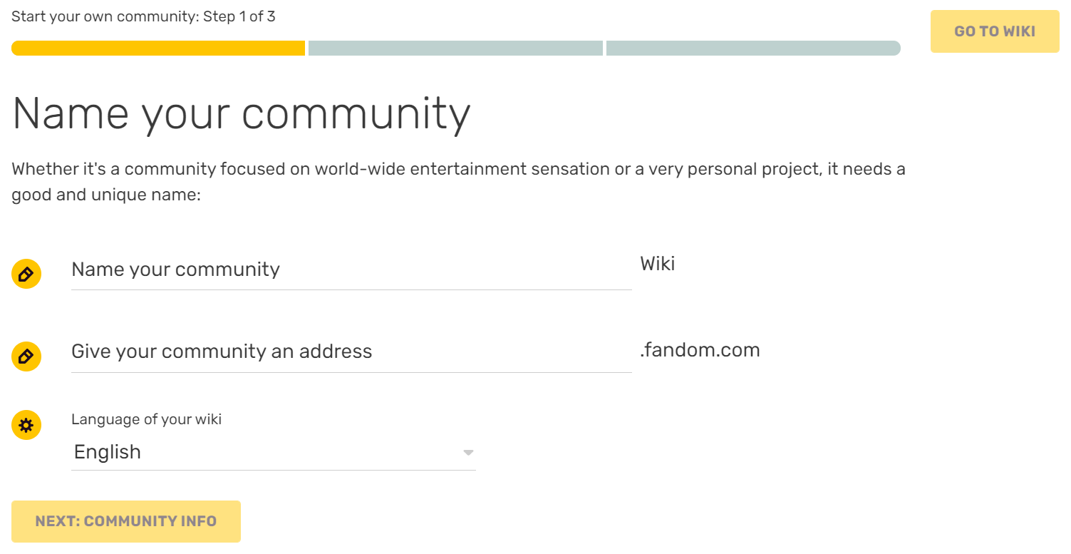 Help Start A New Community Community Central Fandom