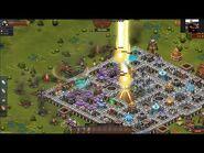 Throne Rush First Pyramid Defense