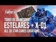 Todos os 35 Reatores Estelares (Star Cores) & Quantum X-01 Mk