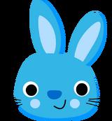 Monochromatic Bunny.png